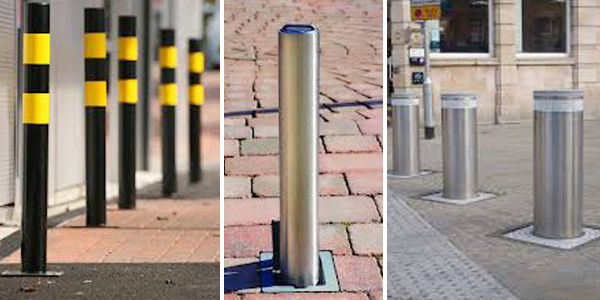 bollards and barriers
