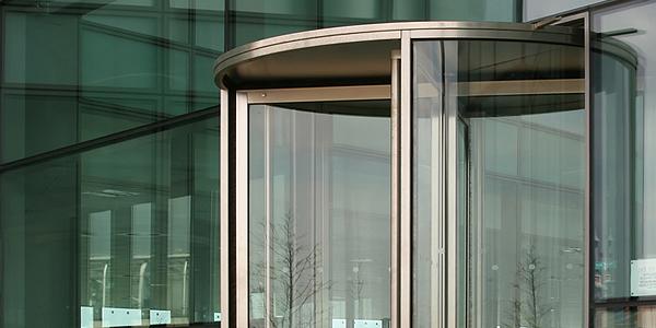 bronze revolving doors