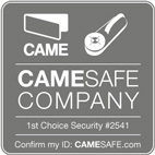 Security Gates in London CAMESAFE Logo