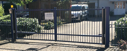 Watford Commercial Gate Installation