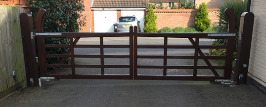 Electric Gates in Saffron Walden