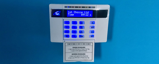 Commercial Intruder Alarms London
