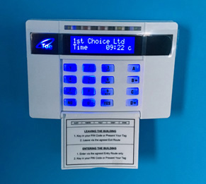 intruder alarm system in Hitchin
