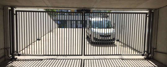 Automatic Gates in Cambridge