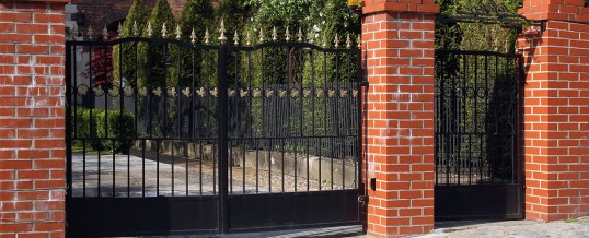 Wrought Iron Security Gates Bedford