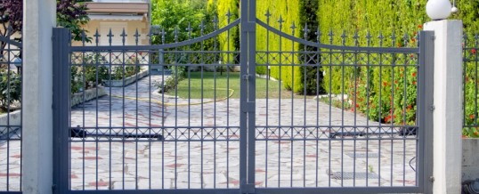 Security Gates for Driveway