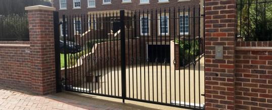 Driveway Security Gates London