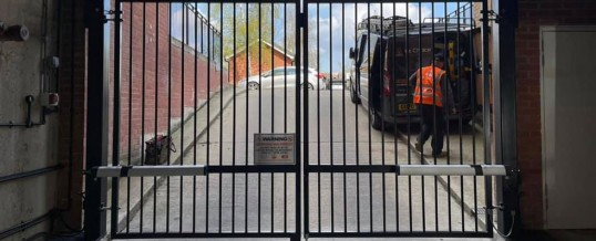 Case Study – Automatic Swing Gates for Bedfordshire Car Park