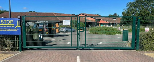 School Entrance Gate